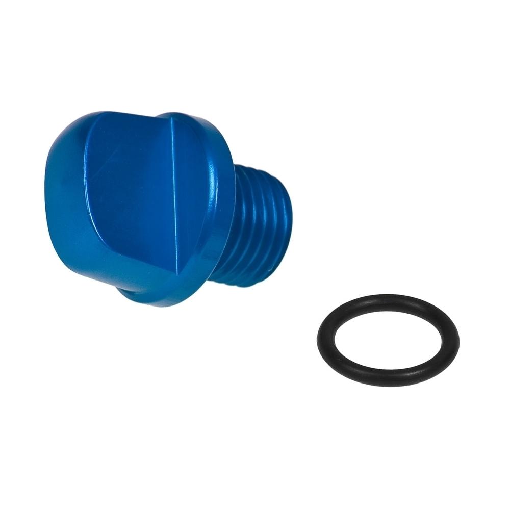 blau Öleinfüllschraube STR8 New-Style für Minarelli