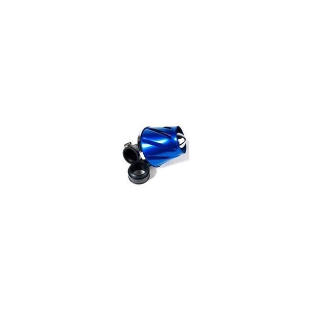 Luftfilter STR8 Helix, chrom (38 / 28mm)
