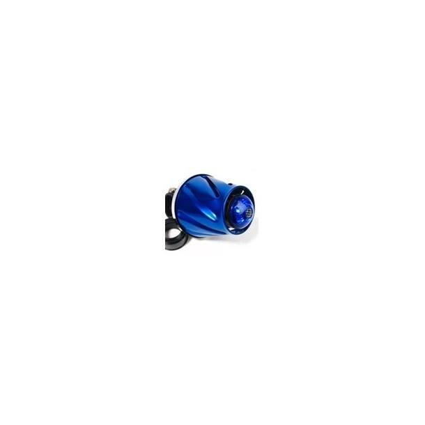 Luftfilter STR8 Helix Illuminated, chrom, blau beleuchtet (3 verschiedene Programme)