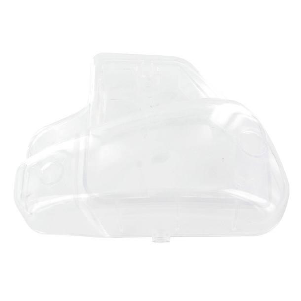 Luftfilterkasten-Abdeckung STR8 für Peugeot stehend, weiß transparent