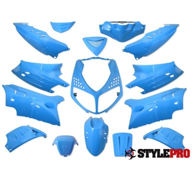 verkleidung 15 teilig stylepro f r peugeot speedfight 2 eisblau roller motorradteile. Black Bedroom Furniture Sets. Home Design Ideas