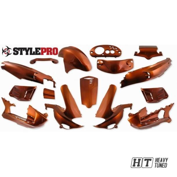 Verkleidung 15 Teilig StylePro für Gilera Runner, Orange