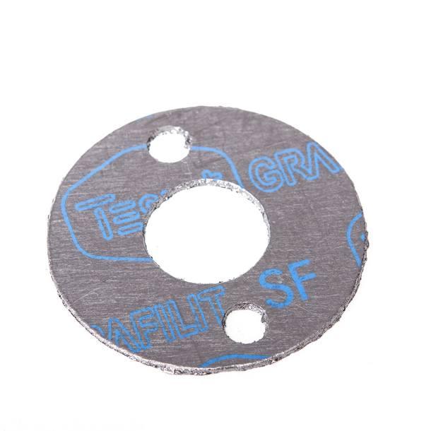 Dichtung Auspuff / Endschalldämpfer, Hebo Racing II / IV / V / Replica, Lochabst. 42mm; d= 59 / 23mm, 1,5mm