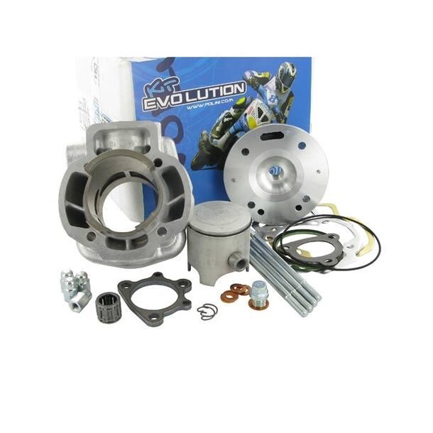 Zylinderkit Polini Evolution 4 70cc, 47,6mm Bohrung, 85mm Pleuel für Piaggio LC