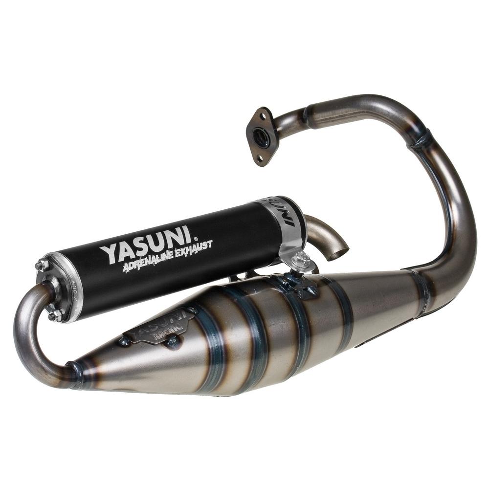 Auspuff Yasuni Scooter Z schwarz f/ür Piaggio