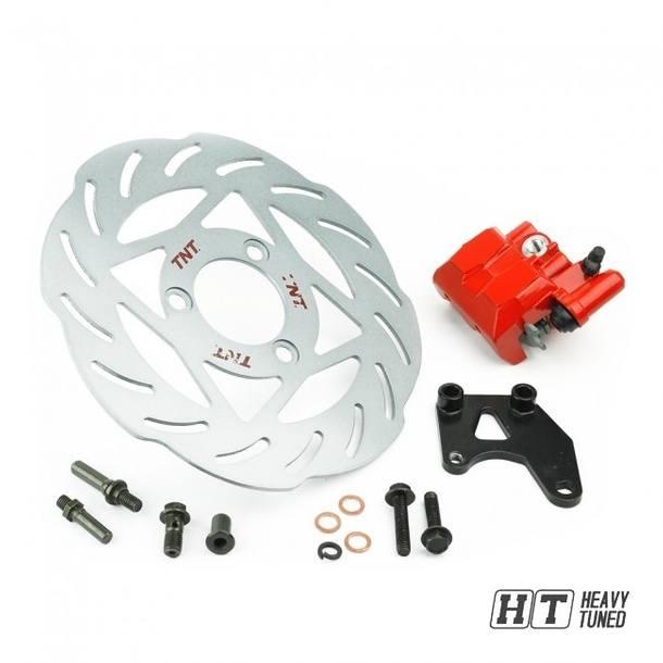 Bremsscheiben-Set - TNT Oversize, 240mm  für Yamaha Aerox / MBK Nitro - 4 Kolben Bremszange