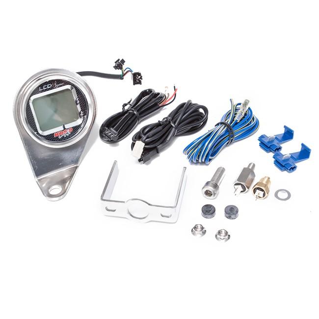 Koso Temperaturfühler AC Drehzahlmesser Temperaturmesser Fühler Sensor für b