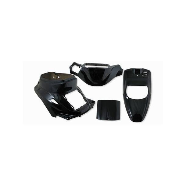 Verkleidungskit StylePro für MBK Booster / Yamaha BWs schwarz lackiert!