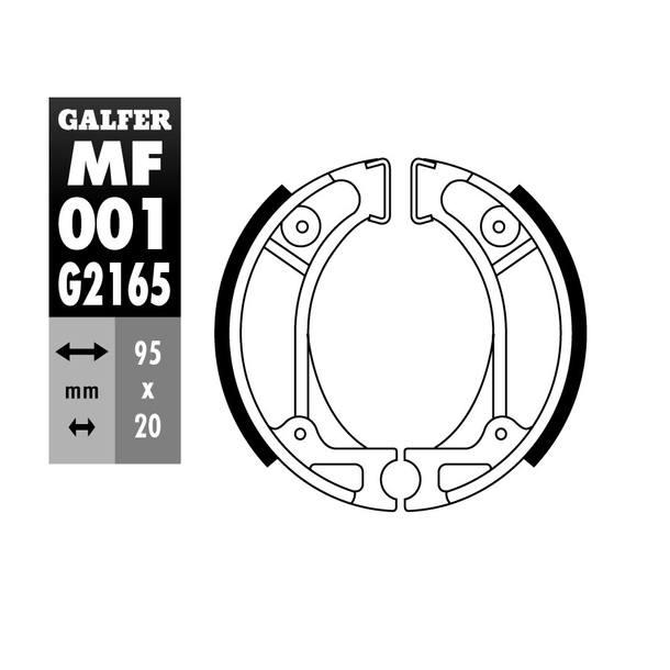 Galfer Bremsbacken MF001
