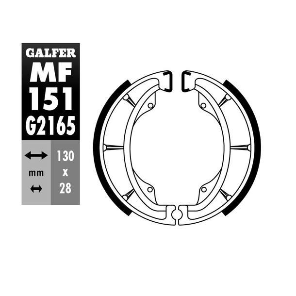 Galfer Bremsbacken MF151