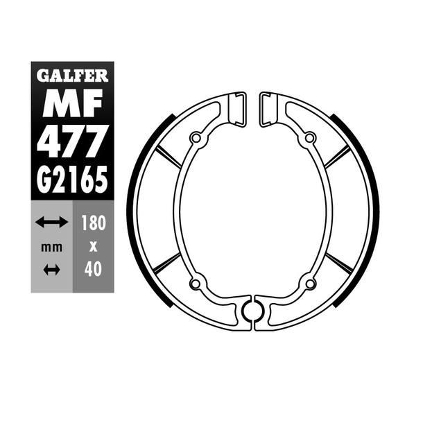 Galfer Bremsbacken MF477