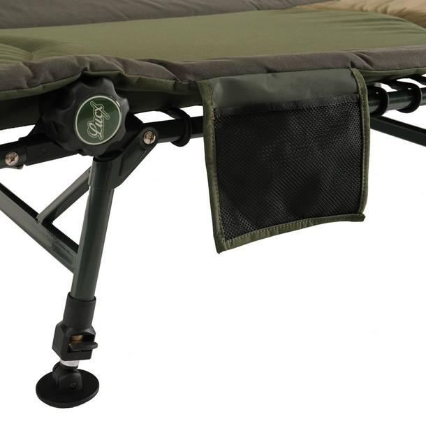 Lucx Angelliege, 8 Beine, XL, Maße (L/B/H): 210 x 80 x 33 cm, Stahlrahmen – Bild 2