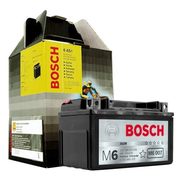 Bosch Batterie 12V x 10A , ähnlich YTX12-BS Abmessungen: 150 x 87 x 130