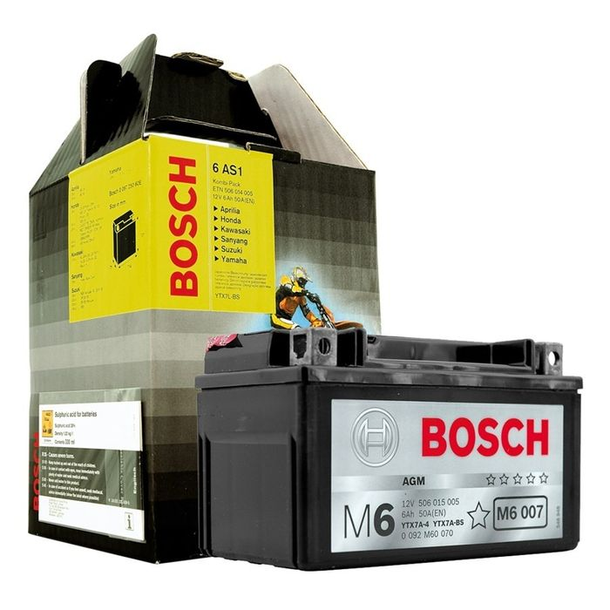 Bosch Batterie 12V x 19A , YB16L-B Abmessungen: 175 x 100 x 155