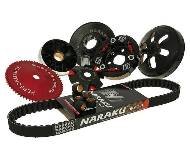 Antriebskit Naraku 729mm Keilriemenlänge für GY6 4-Takt 50ccm 139QMB