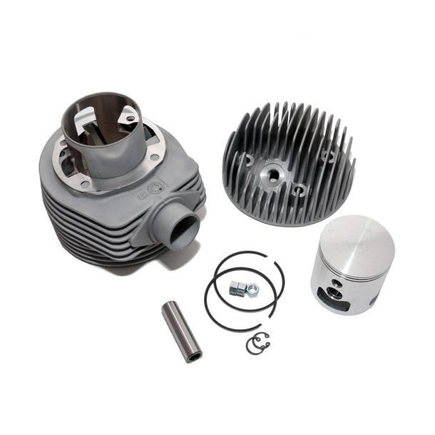 Rennzylinder / Zylinder Kit Pinasco, 177ccm Aluminium 63mm für Vespa 125 GTR 2 / TS / 150 Sprint / V / PX 125 (inkl. Zylinderkopf)