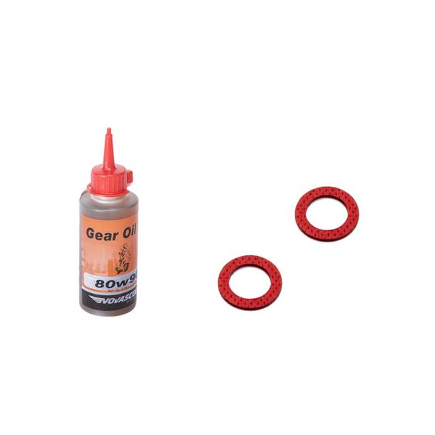 Set - Getriebeöl inkl. Dichtringe für Piaggio Hexagon / SKR