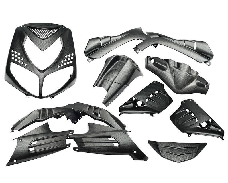 verkleidungskit carbon style 13 teile f r speedfight ii. Black Bedroom Furniture Sets. Home Design Ideas