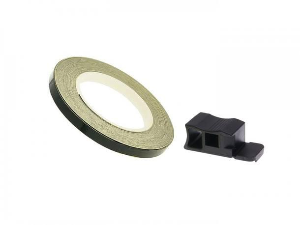 Felgenrand Aufkleber 7mm - schwarz - 600cm
