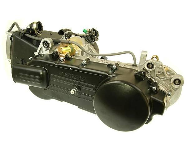 Motor lang 835mm, Trommelbremse hinten für GY6 125ccm 152QMI