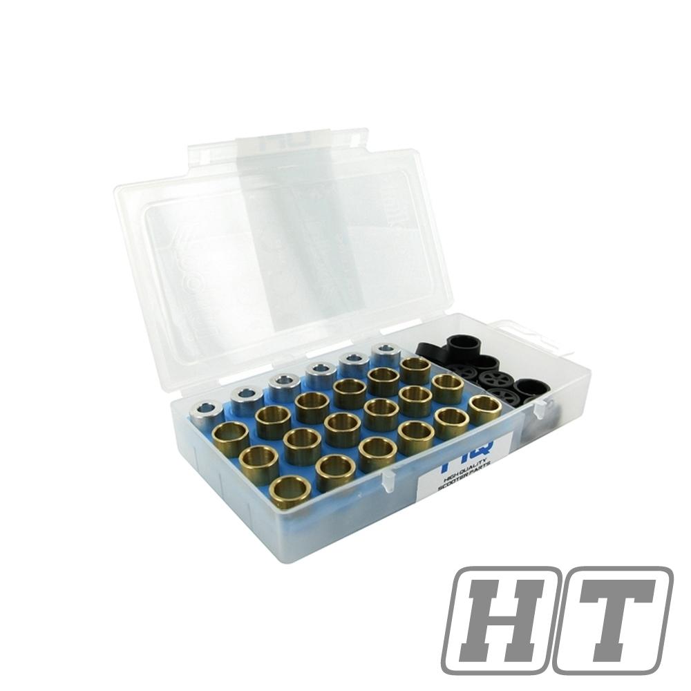 Variomatikrollen für J.Costa 12 Stück a 16,5 Gramm 25 mm