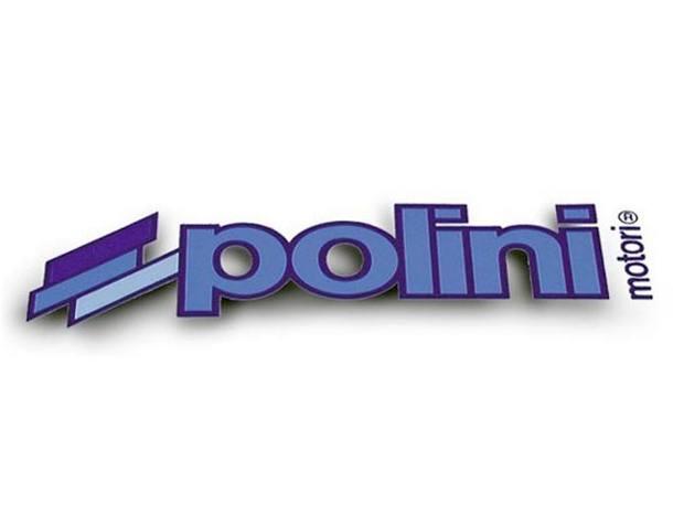Aufkleber Polini, Logo, 34 x 11cm