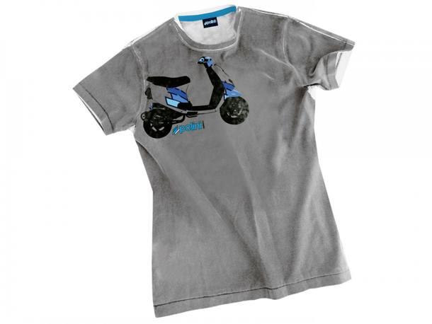 T-Shirt Polini Scooter Größe M