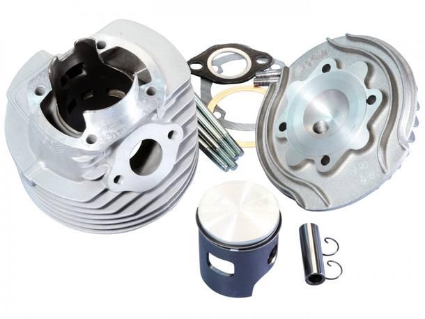 Zylinderkit Polini Aluminium Racing Evolution 130ccm 57mm für Vespa 125 ETS, PK, Primavera 2T, Primavera ET3 2T, XL