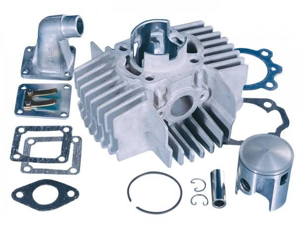 Zylinderkit Polini Aluminium Sport 65ccm 43,5mm für Puch Maxi