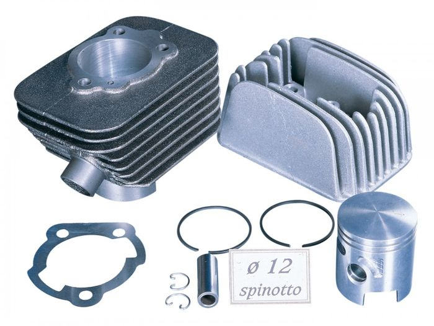 Zylinderkit Polini Grauguss Sport 63ccm 12mm Kolbenbolzen für Piaggio Ciao