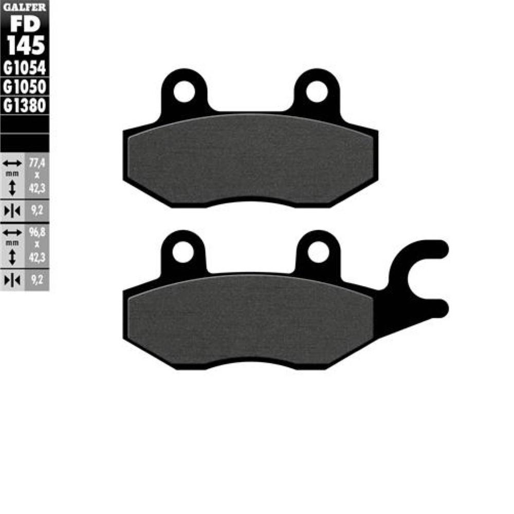 Bremsbelagsatz Galfer Semi-Metal Scooter Bremsbelagsatz Bremsklötze
