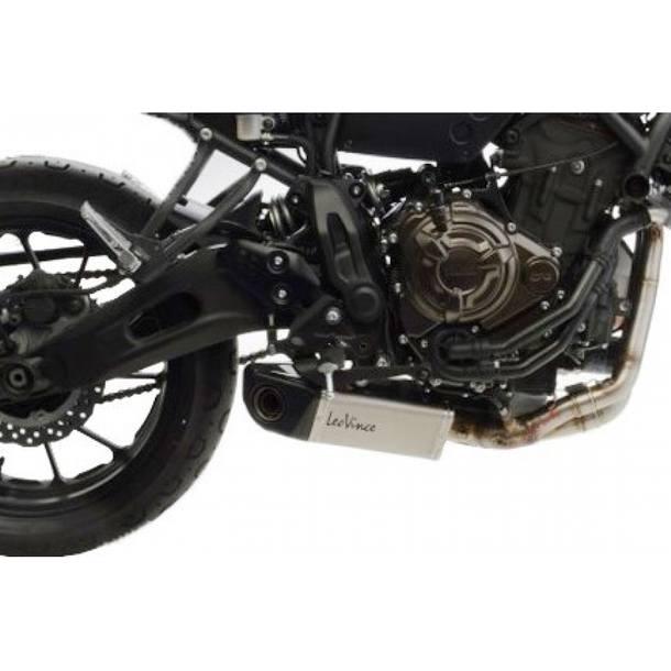 Auspuffanlage LeoVince Edelstahl Komplettanlage 2x1 SBK U.B. für Yamaha XSR700
