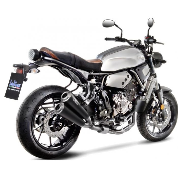 Auspuffanlage LeoVince Edelstahl Komplettanlage SBK GP Duals für Yamaha XSR 700