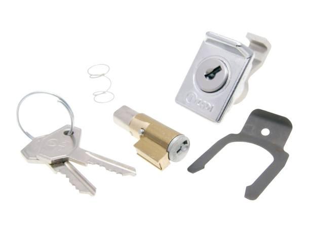 Lenkschloss und Gepäckfachschloss Set 6mm für Vespa 50, 125