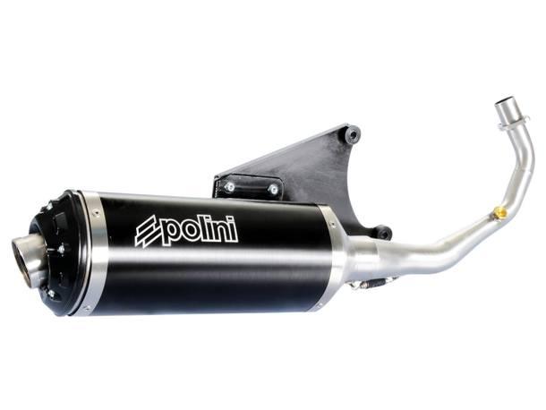 Auspuff Polini für Vespa Primavera, Sprint, LX 125ie / 150ie 3V 4-Takt