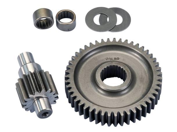Getriebe sekundär Polini 16/47 17,7mm für Piaggio 50 2T -1998