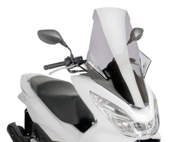 Windschild Puig V-Tech Touring smoke für Honda PCX 125i 4T 14- JF57