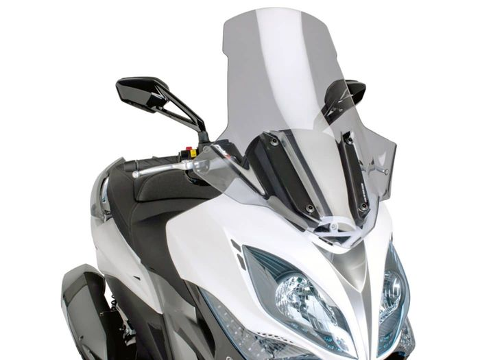 Windschild Puig V-Tech Touring smoke für Kymco Xciting 400i