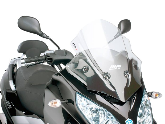 Windschild Puig V-Tech Sport transparent / klar für Piaggio MP3 300ie LT Sport