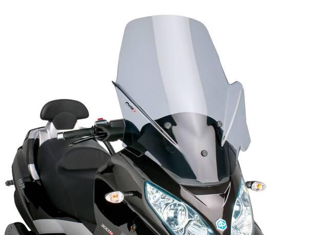 Windschild Puig V-Tech Touring dark smoke für Piaggio MP3 Touring 400ie 2012
