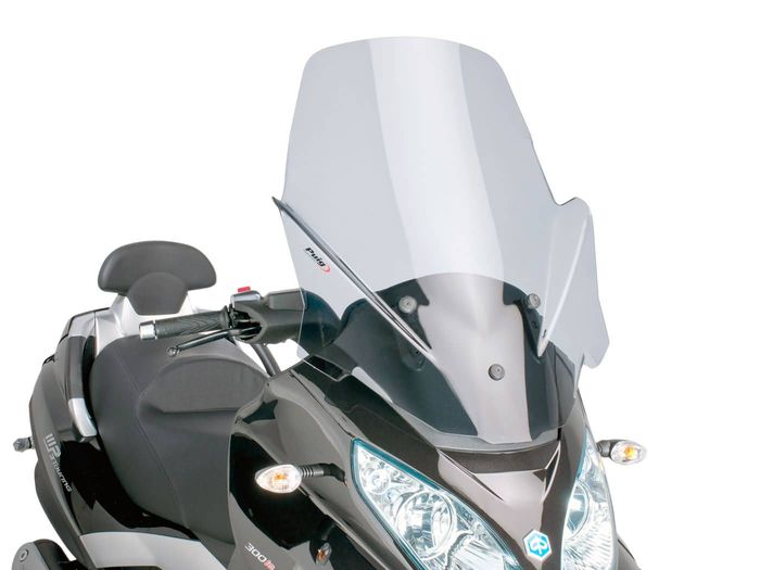 Windschild Puig V-Tech Touring smoke für Piaggio MP3 Touring 400ie 2012