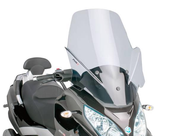 Windschild Puig V-Tech Touring smoke für Piaggio MP3 Touring 400ie 2012