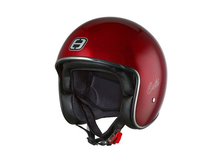 Helm Speeds Jet Cult Candy rot metallic Größe M (57-58cm)
