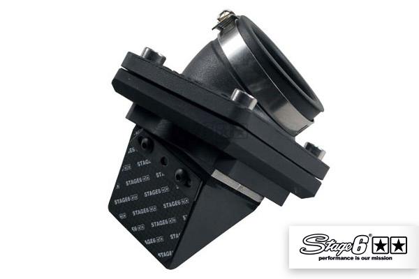 Einlasssystem Stage6 R/T Membranblock inkl. Carbonmembrane Ansaugstutzen Piaggio / Gilera / Vespa
