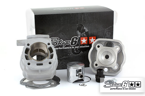 Zylinderkit Stage6 Big Racing 88cc 45mm Hub, Derbi Euro2