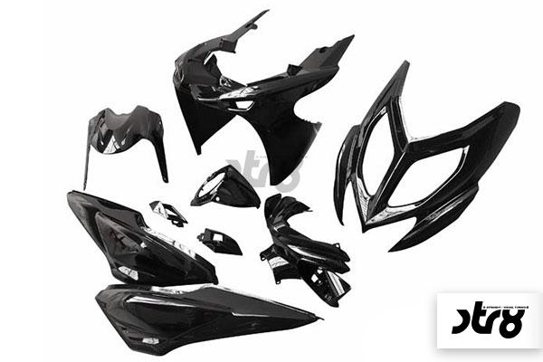 ab Bj.2013 Kickstarter STR8 rot f/ür Yamaha Aerox R 50 Naked