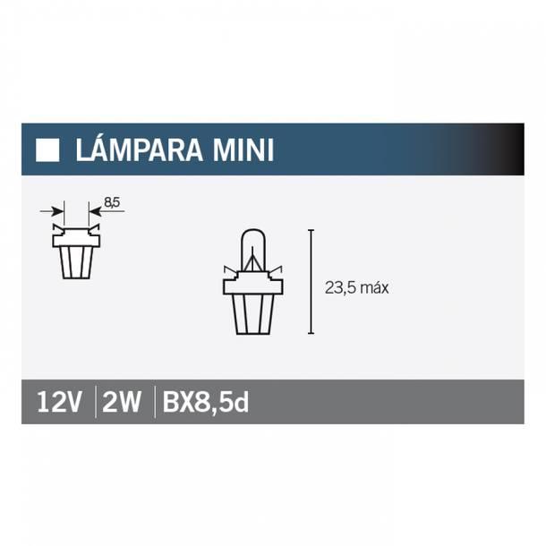 Leuchtmittel OSRAM 2722MFX B8,5d